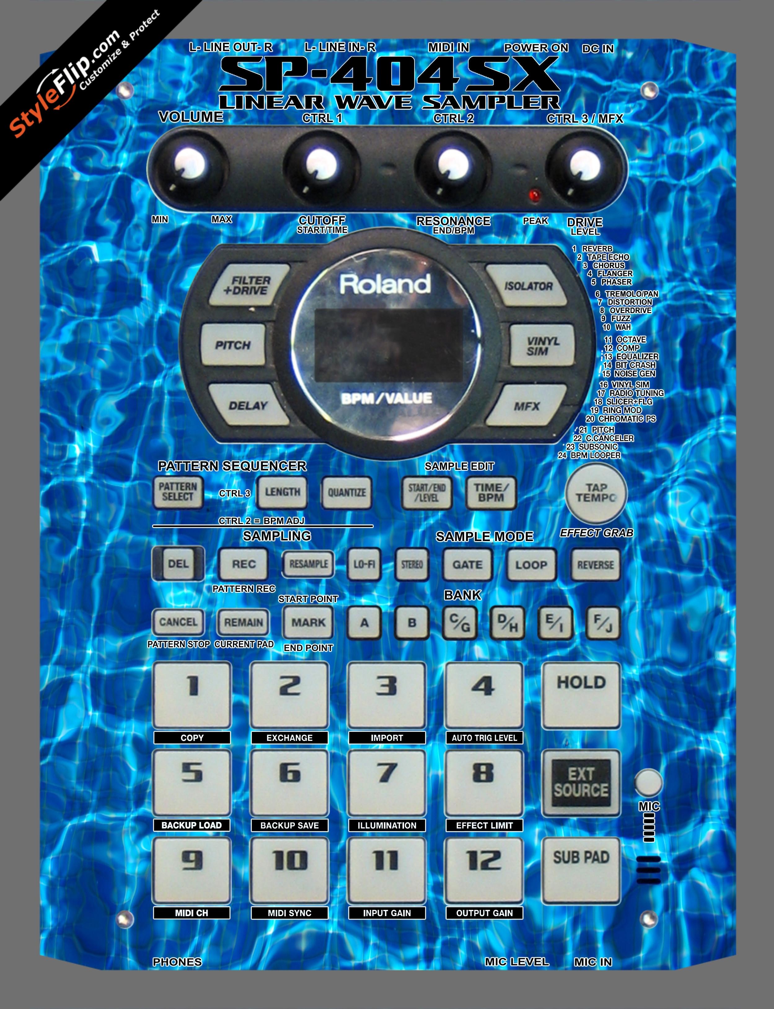 Pools Roland SP-404 SX