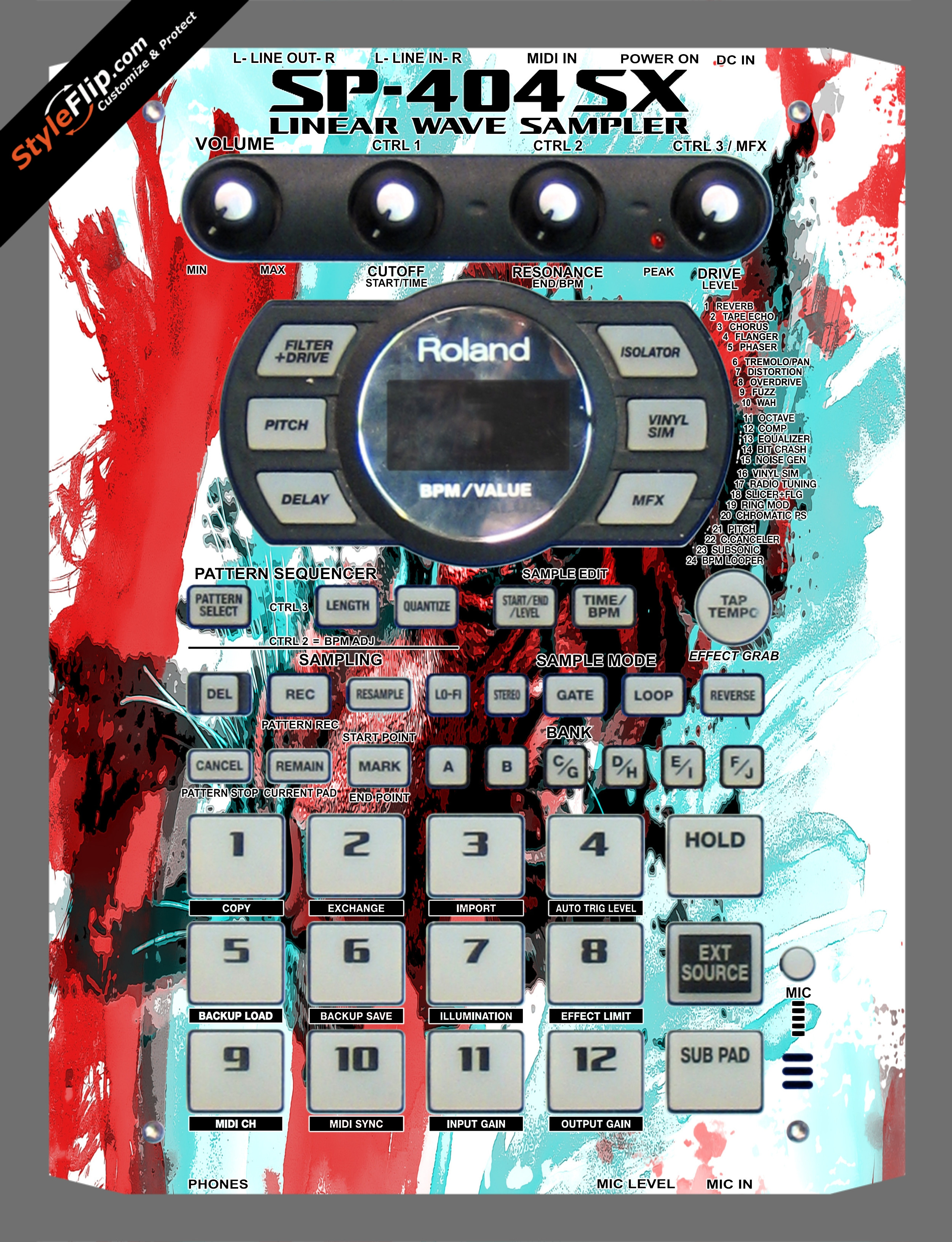 Rumble In The Jungle  Roland SP-404 SX