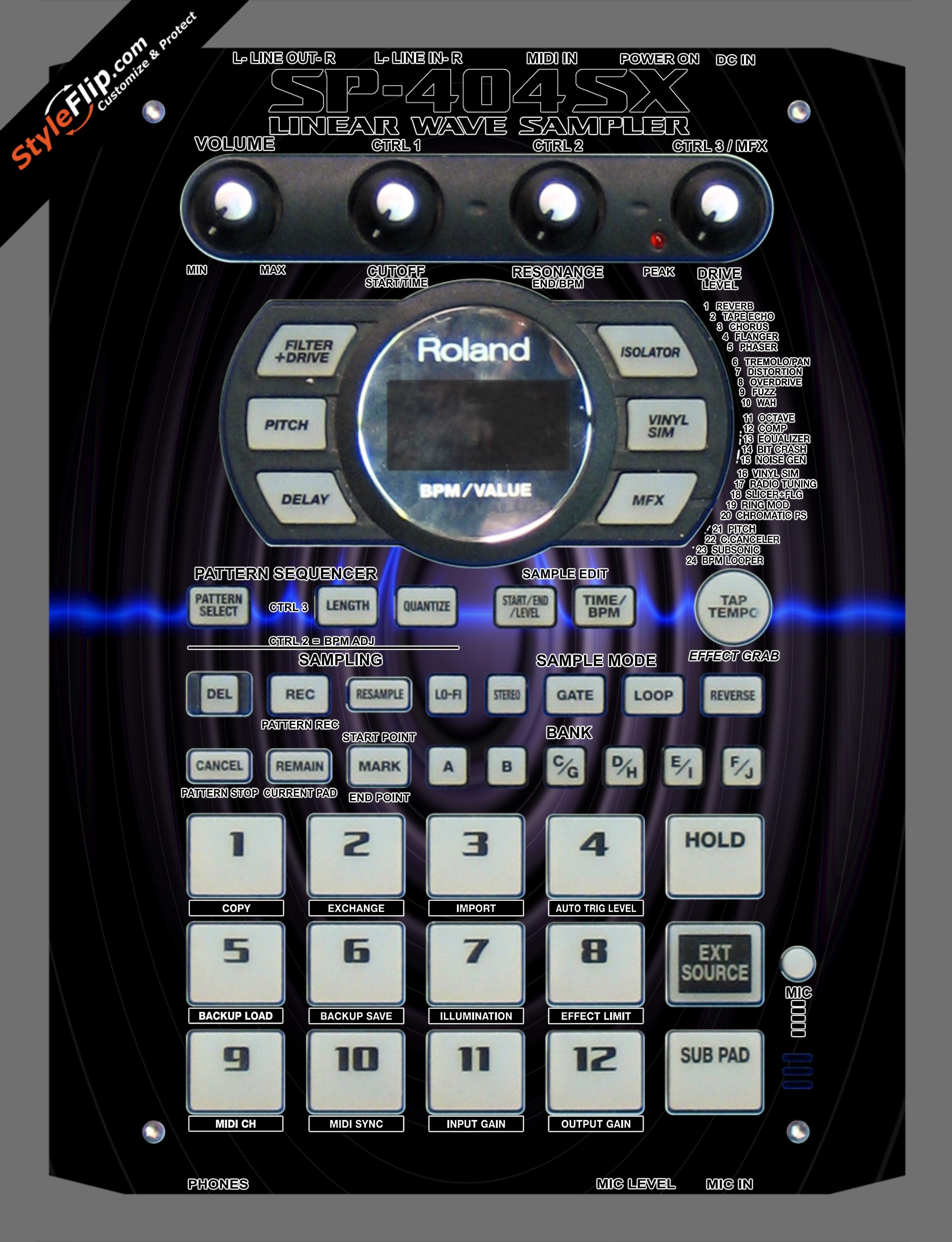 Sub Sonic Roland SP-404 SX