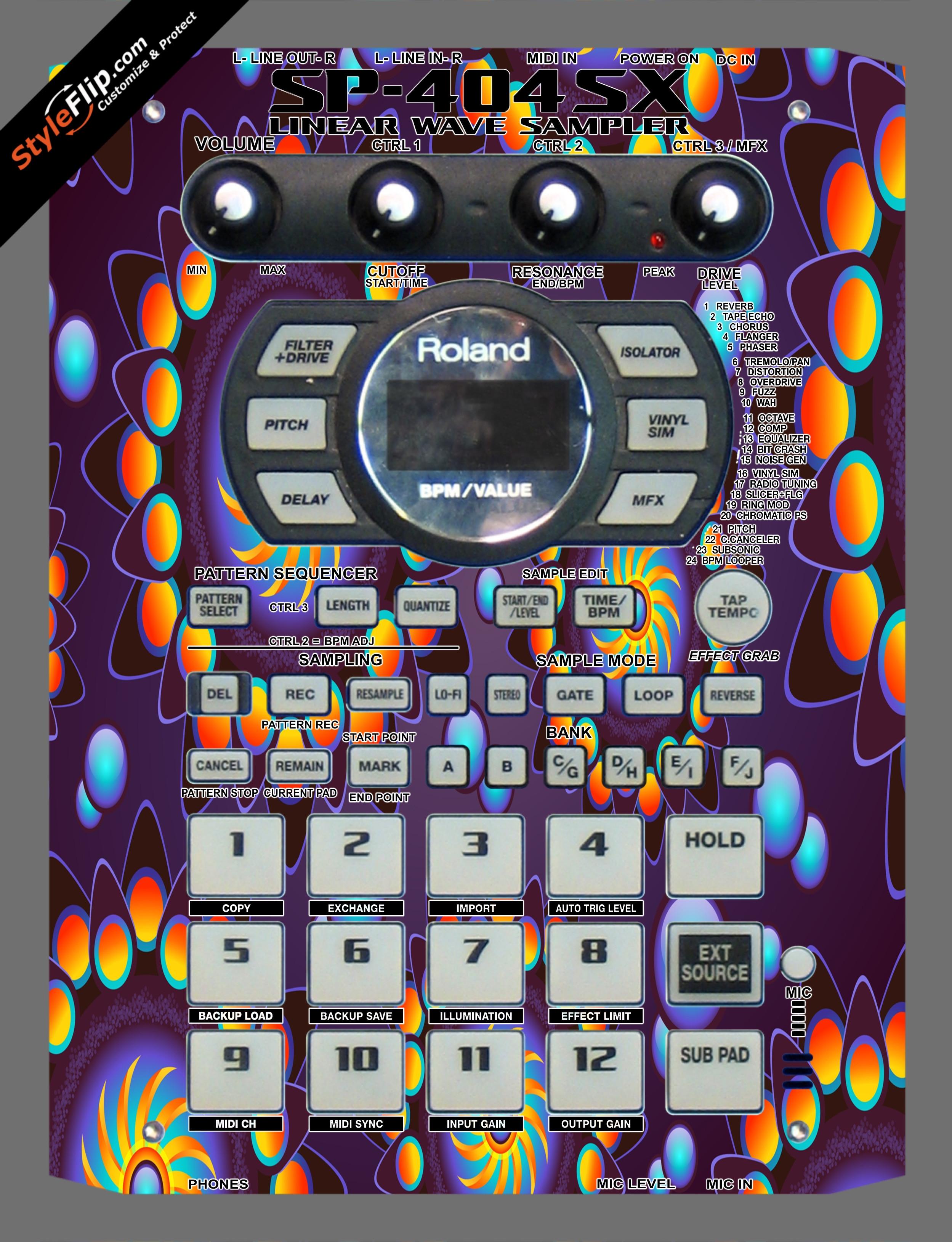 Sunkissed Roland SP-404 SX