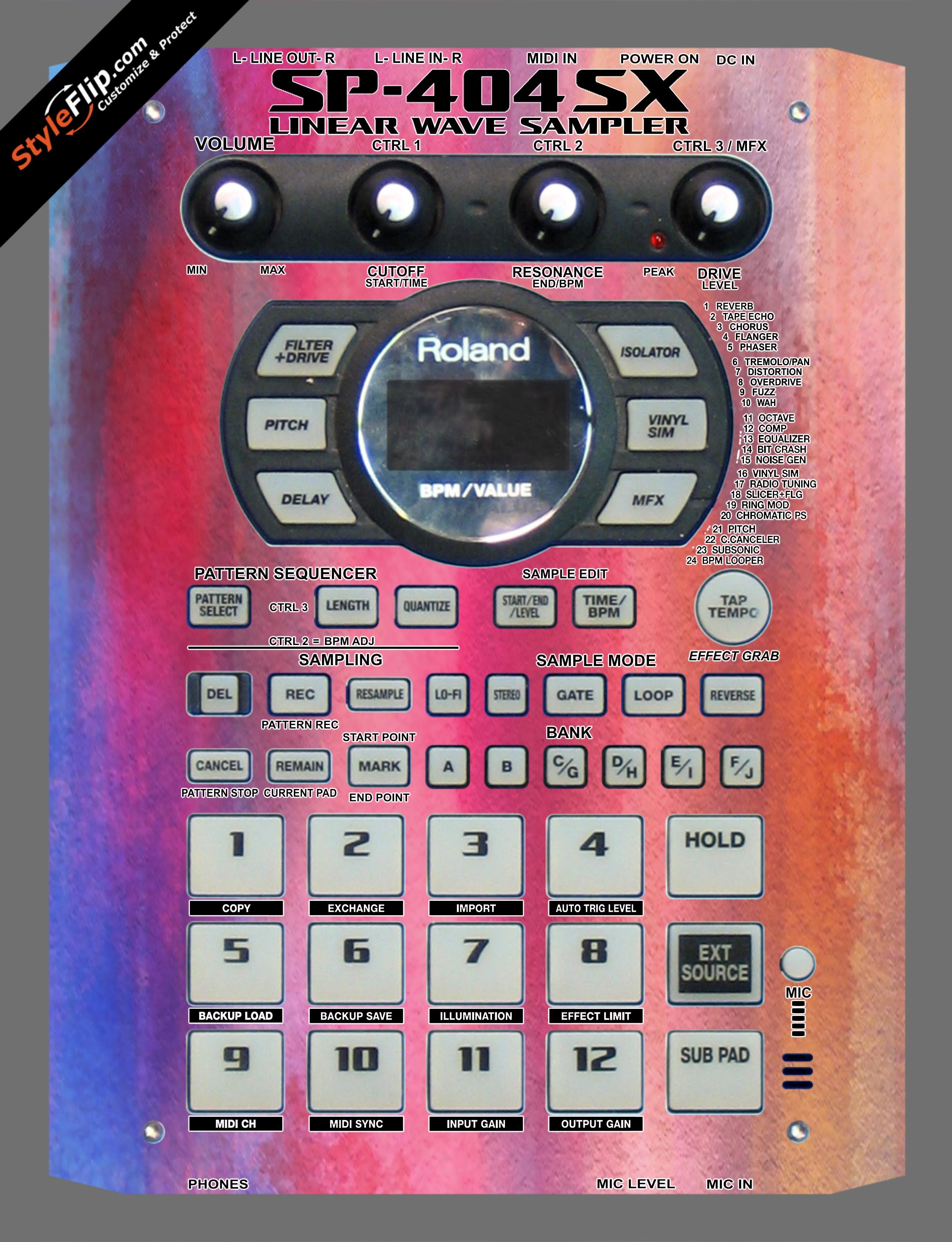 Sunset Roland SP-404 SX
