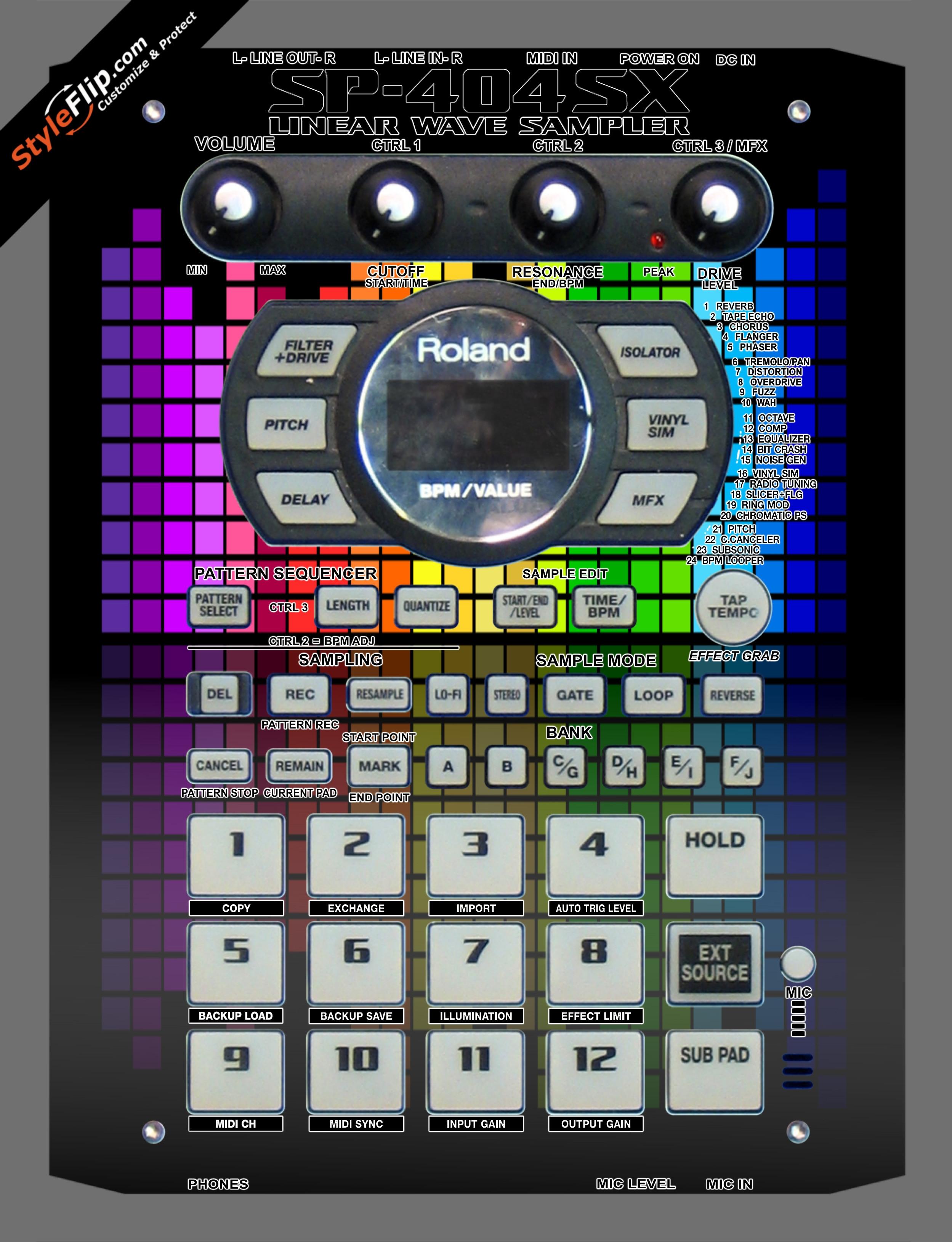 Turn Up  Roland SP-404 SX