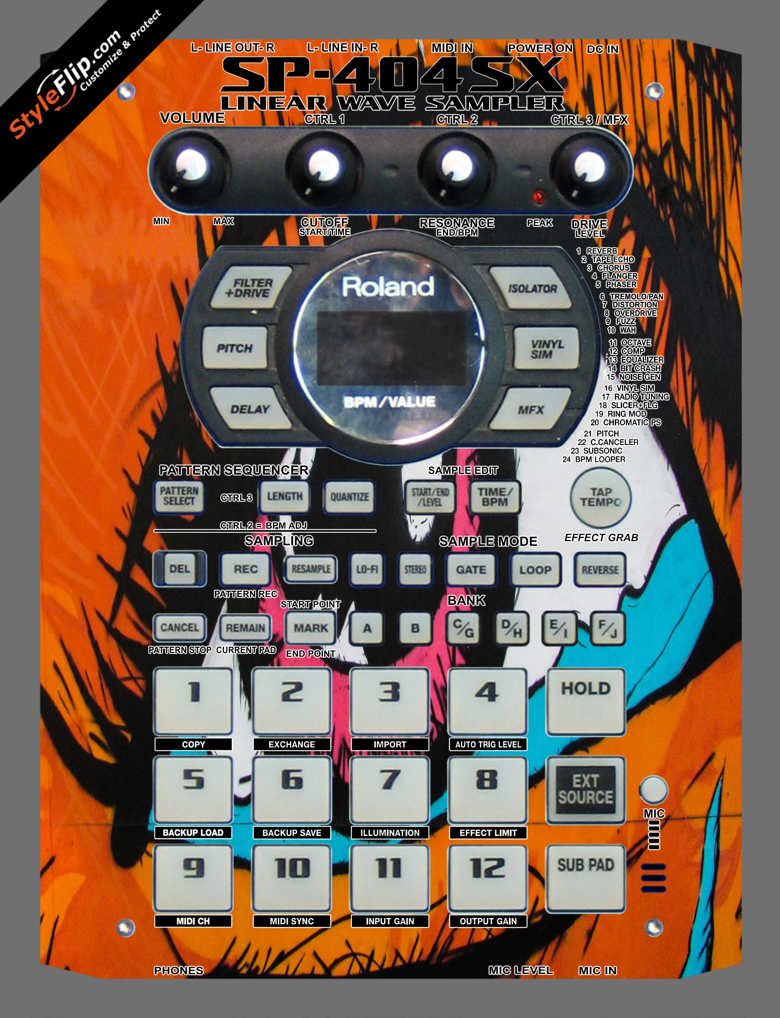 Visionary  Roland SP-404 SX