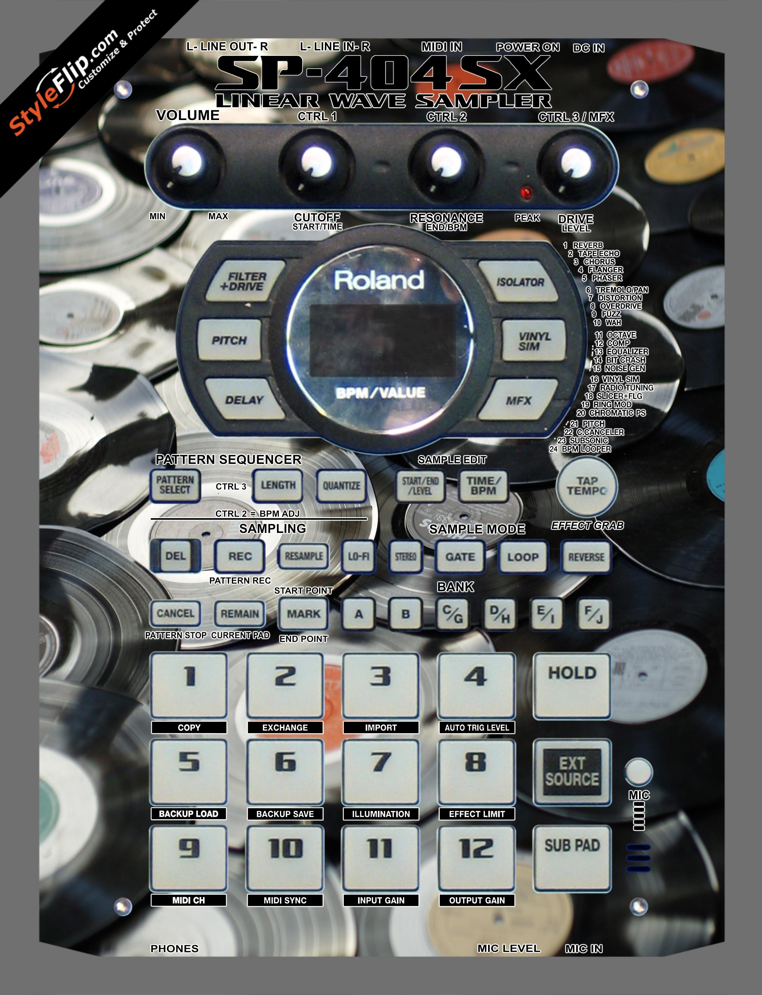 Wax On  Roland SP-404 SX