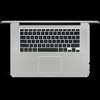 "Apple Macbook Pro 15"" Retina Display Keyboard Skins Custom Sticker Covers & Decals"