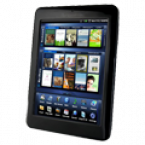 "Pandigital Novel 7""-Black Android Skins Custom Sticker Covers & Decals"