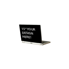 "15"" Generic Laptop Back-13.75"" x 9.5"""