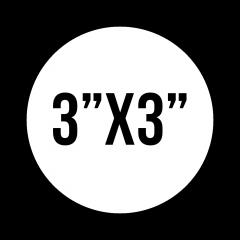 "Custom Stickers 3""X3"" Circle Stickers"