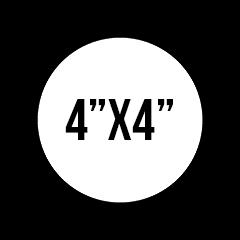 General Custom Stickers 4X4