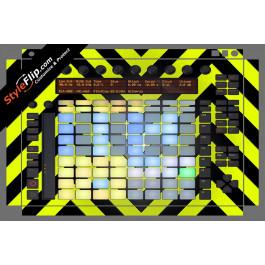 Black & Yellow Chevron Ableton Push