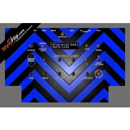 Black & Blue Chevron Dave Smith Instruments Mopho