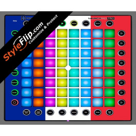 French Flag  Novation Launchpad Pro