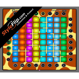 Giraffe Print  Novation Launchpad Pro