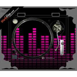 Pink Equalizer Technics SL-1200 MK2
