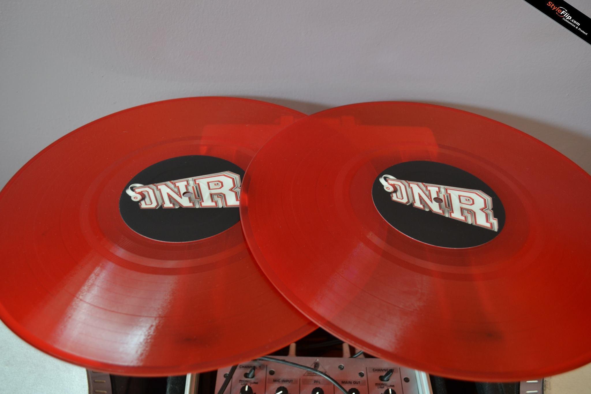 Custom Serato  Clear Control Vinyl Record Customizable Picture Disc - Vinyl custom