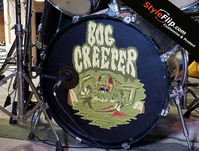 20 inch drum head skin decals covers stickers buy custom skins created online shipped. Black Bedroom Furniture Sets. Home Design Ideas