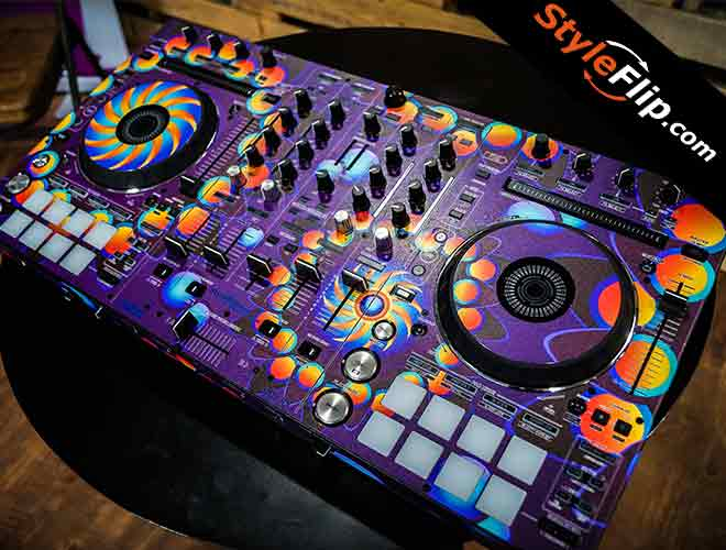 3m Vinyl Wrap For Sale >> Pioneer DDJ-RX custom skins, created online by StyleFlip.com